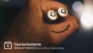 Starterbatterien von Renault
